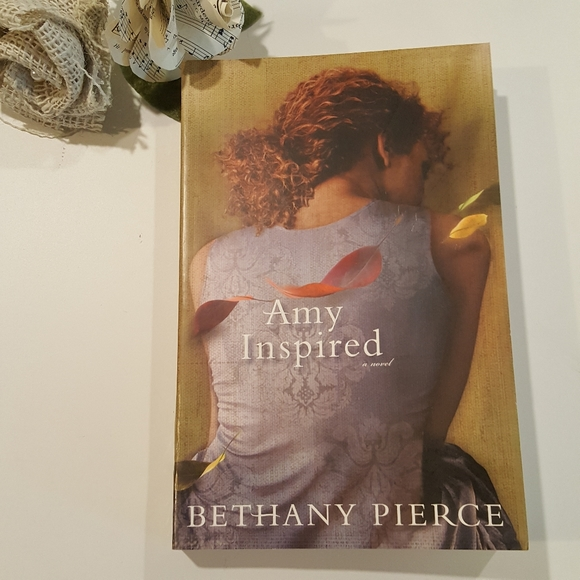 Amy Inspired Fiction Religious Novel Book NEW